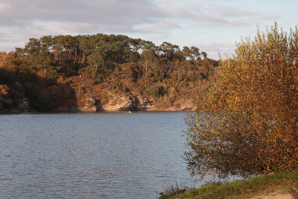 Pistes cyclables lac du jaunay