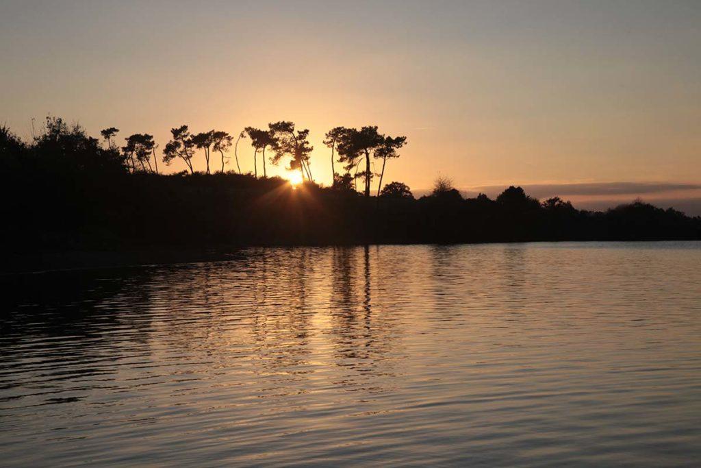 le lac du Jaunay en Vendée