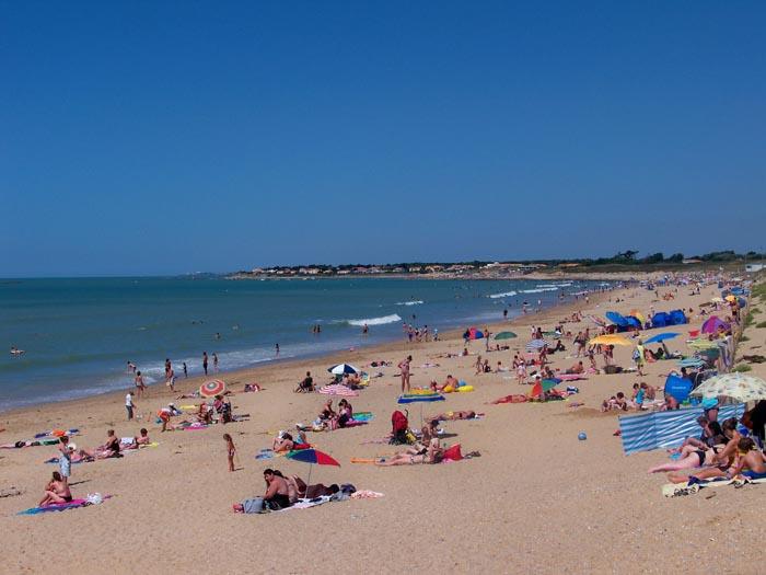 plage des dunes brem sur mer