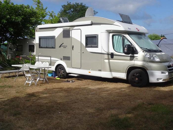 Emplacement pour camping car au meilleur camping de Vendée