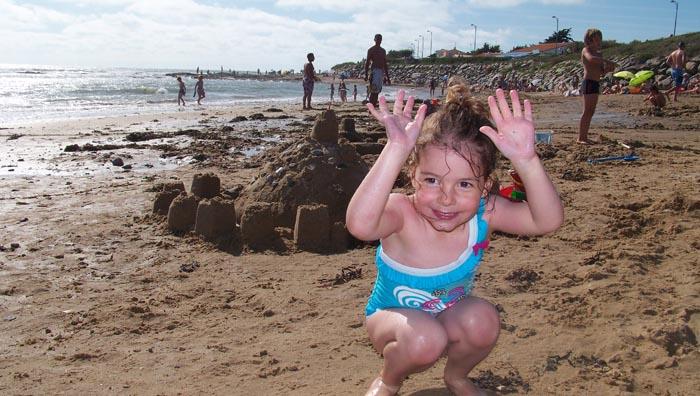 Plage proche du camping familial en Vendée