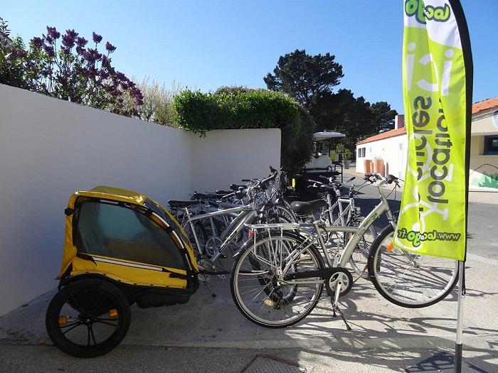 Location de vélo au camping 4 étoiles en Vendée