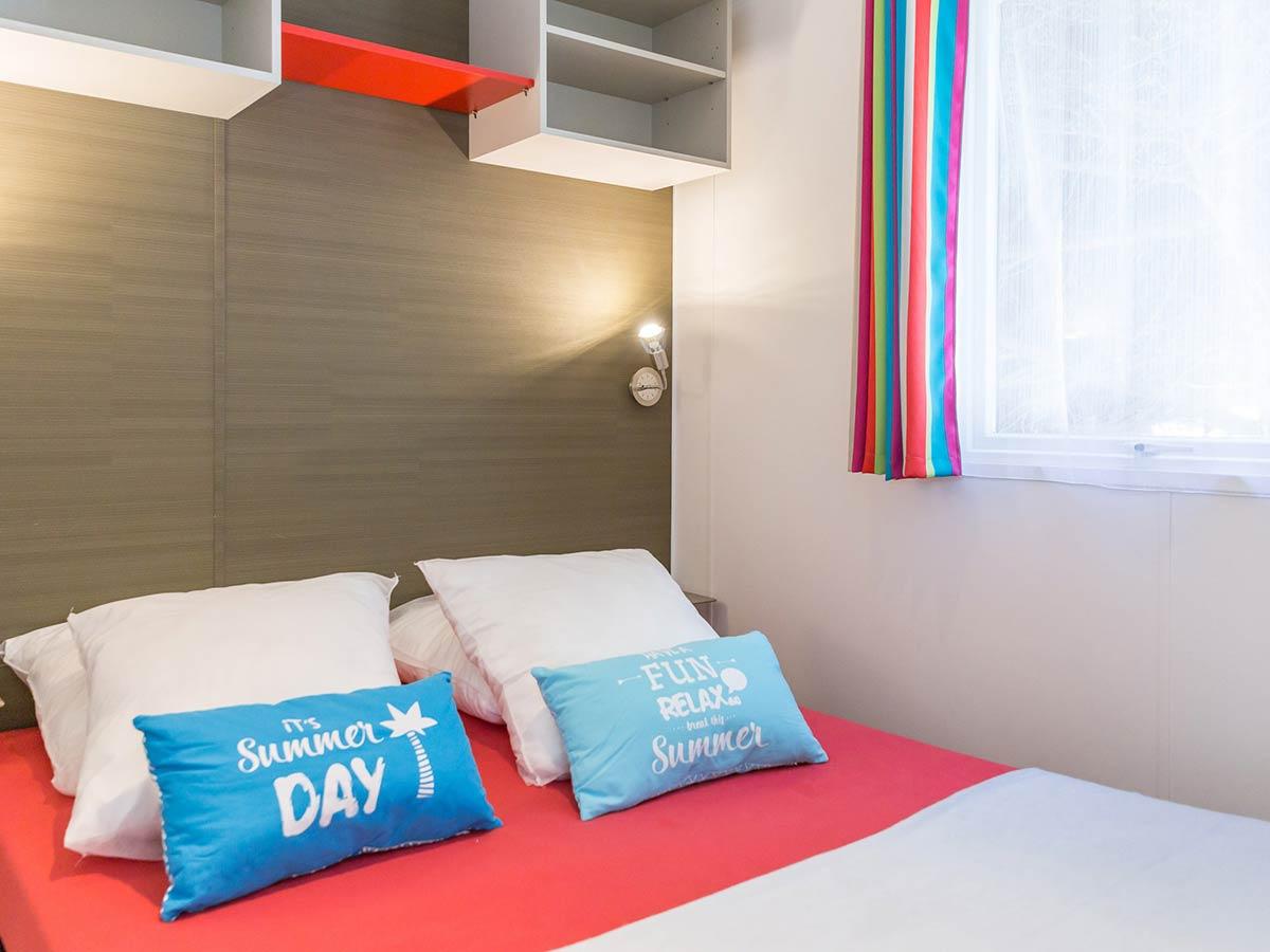 chambre location mobilhome 1 chambre ibiza vendée