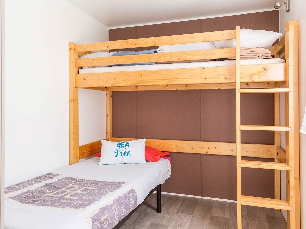 chambre enfants Location mobilhome PMR VENDEE