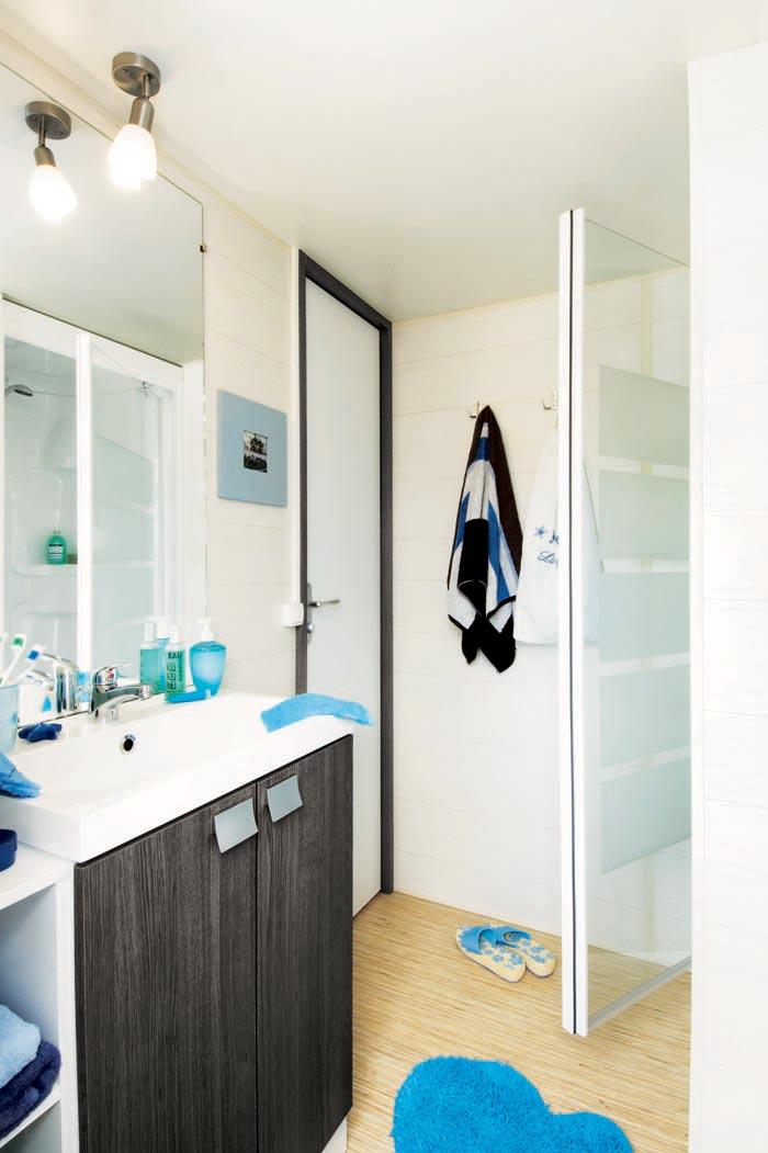 salle de bain ophéa mobilhome vendée