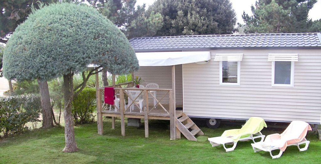 location mobil home en Vendée