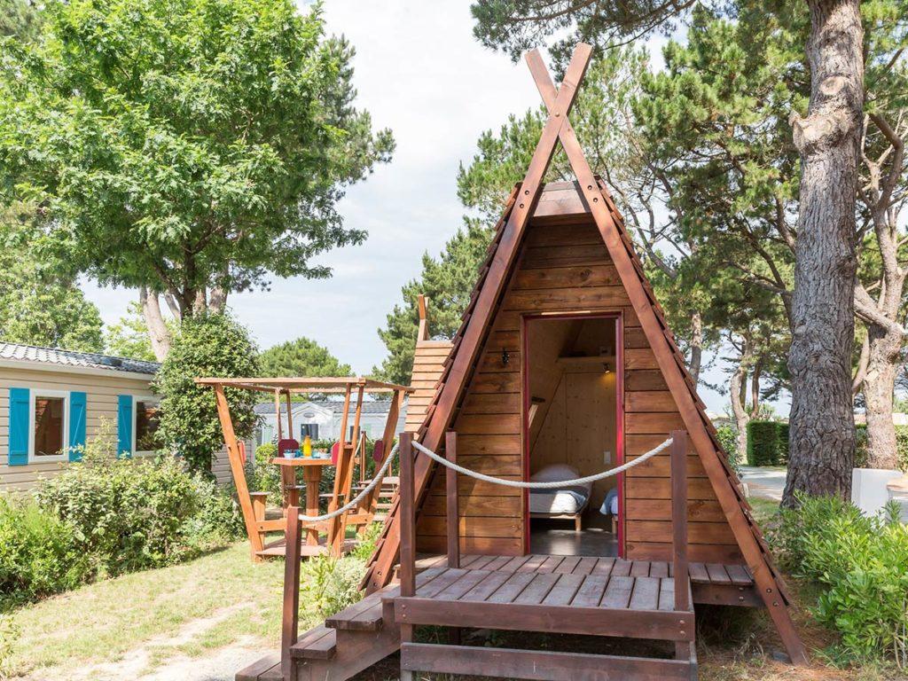 hébergement insolite du camping en vendée