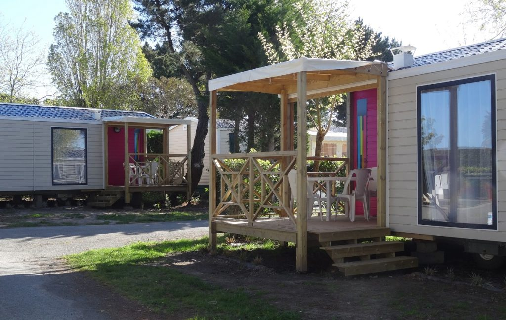 location mobil home top camping Vendée