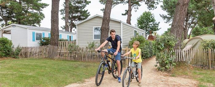 accueil vélo camping Brétignolles sur Mer