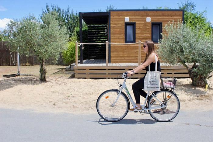 camping Accueil vélo près de Brétignolles