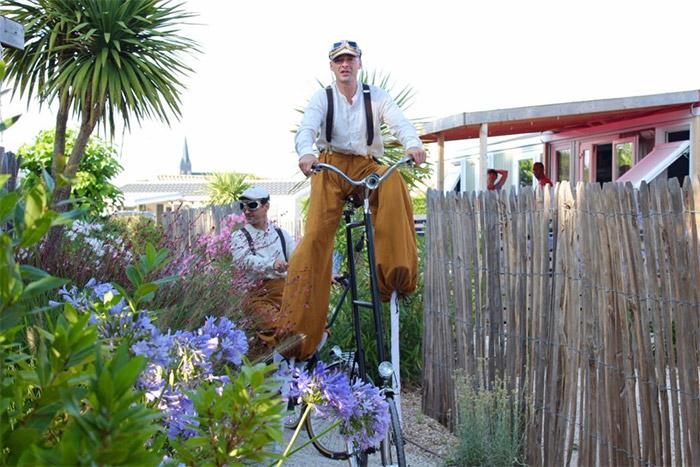 balade à vélo au départ du camping labellisé accueil vélo