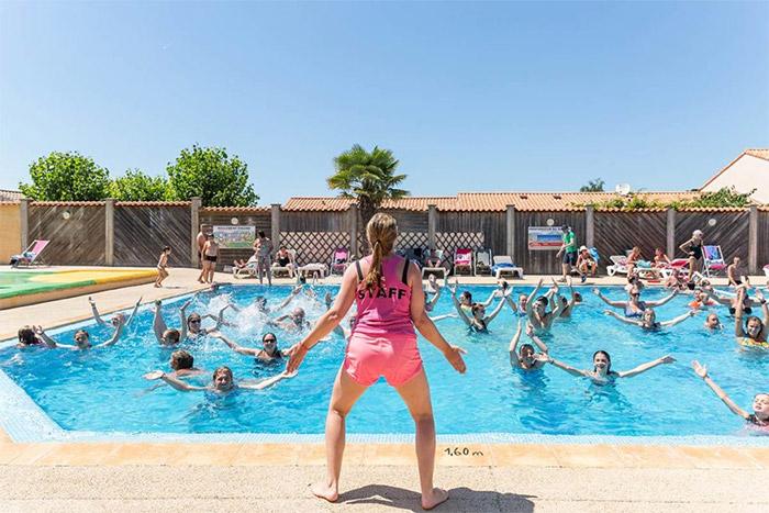 camping bord de mer avec piscine Saint Gilles Croix de Vie