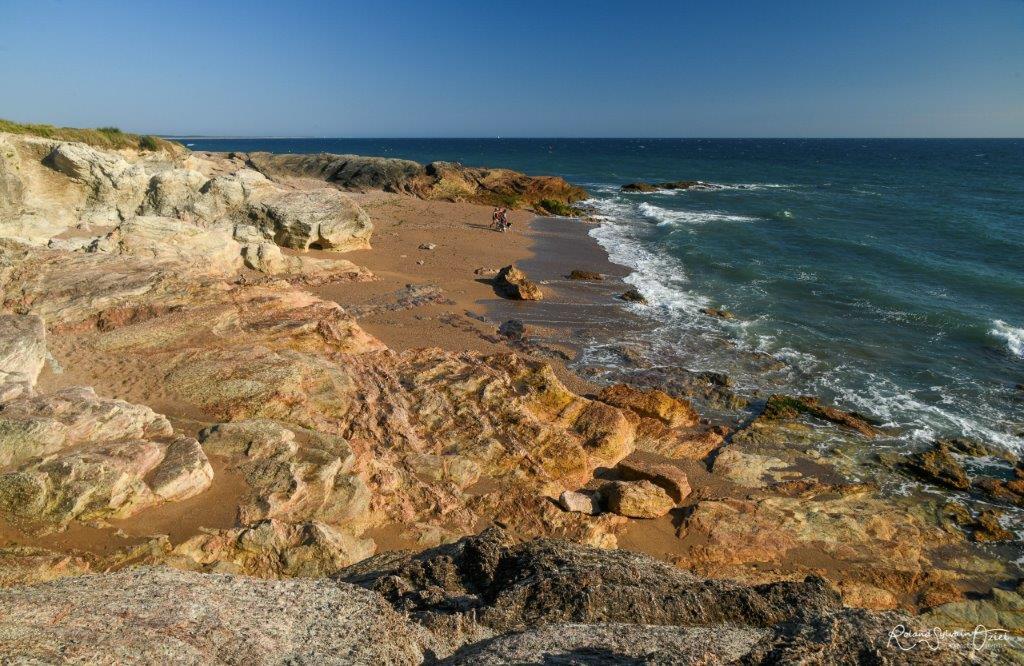 cote rocheuse Brétignolles sur Mer