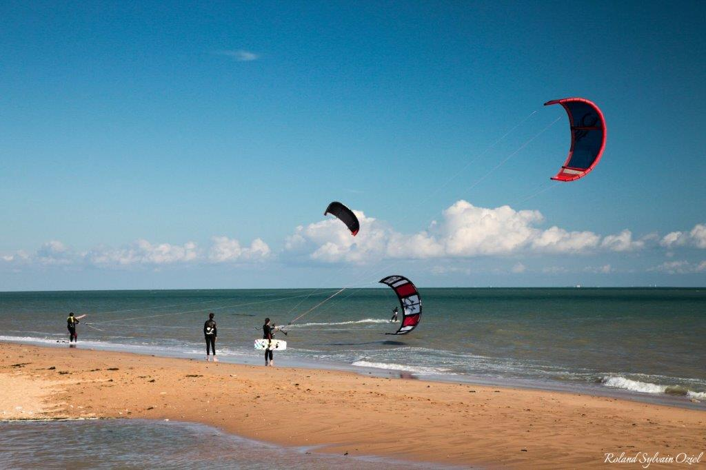 kite surf plage proche camping