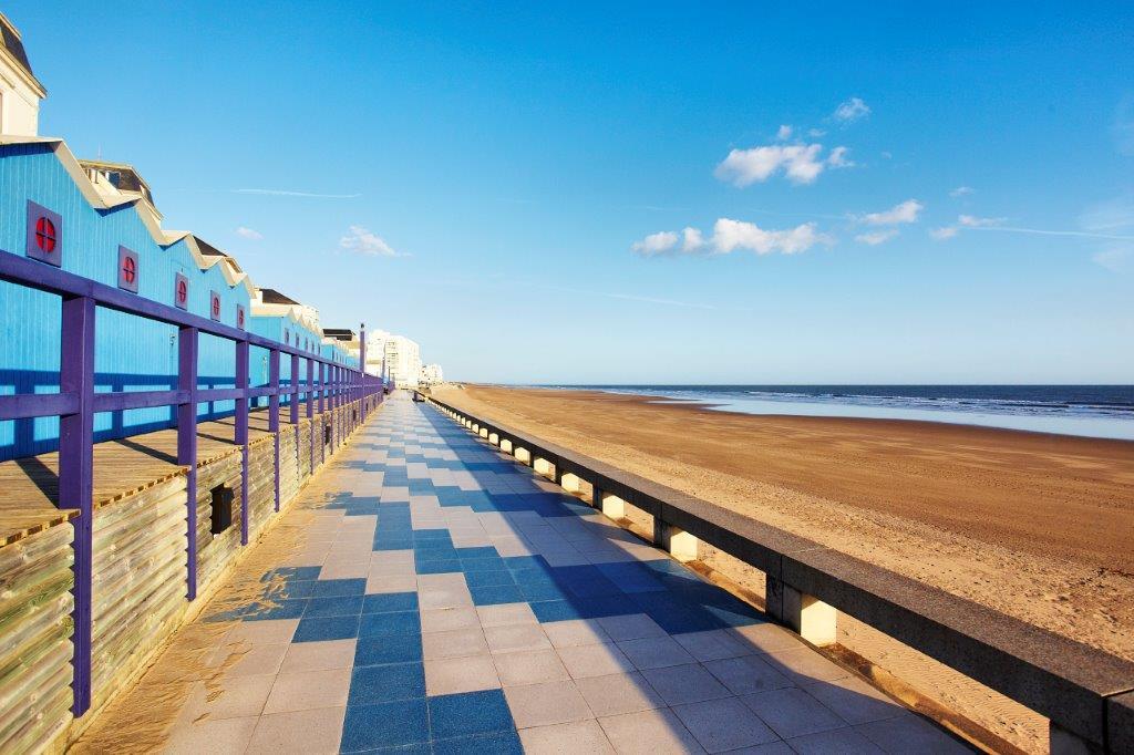 balade à pied ou à vélo en bord de mer