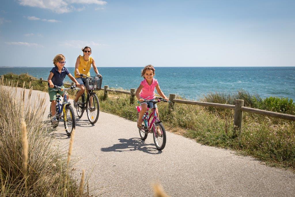 balade à vélo proche camping Vendée