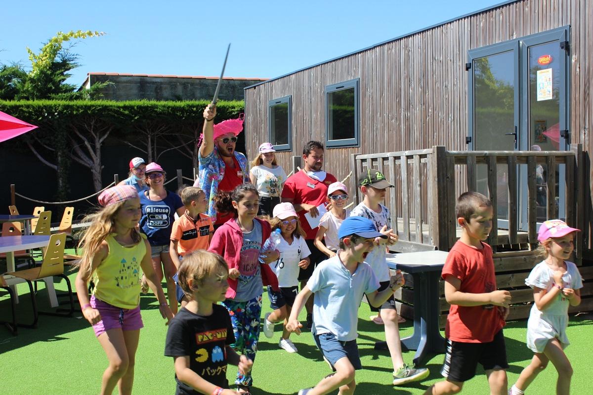 camping en Vendée avec club enfants