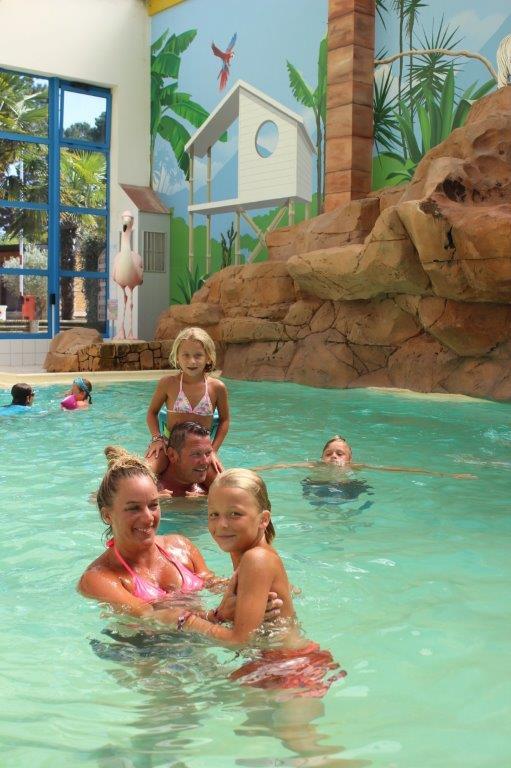 vacances en famille camping avec piscine
