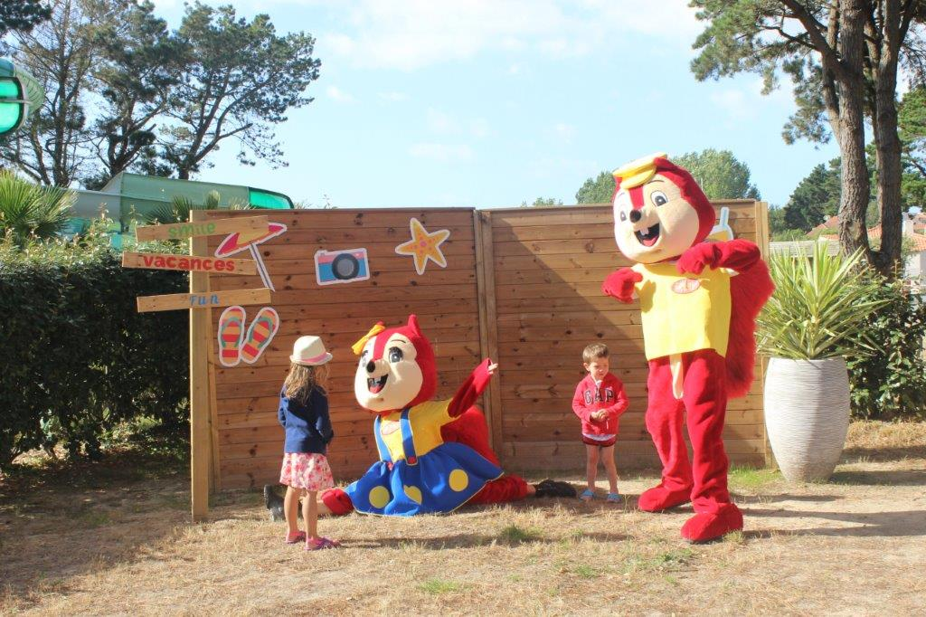 mascotte du camping en Vendée