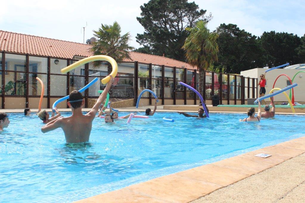 piscine pour tournois sportifs