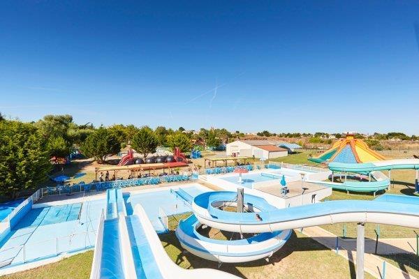parc aquatique près du camping