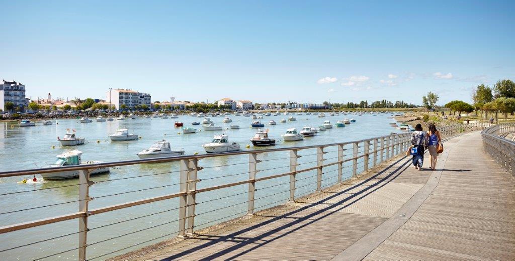 quais du port de Saint Gilles Croix de Vie