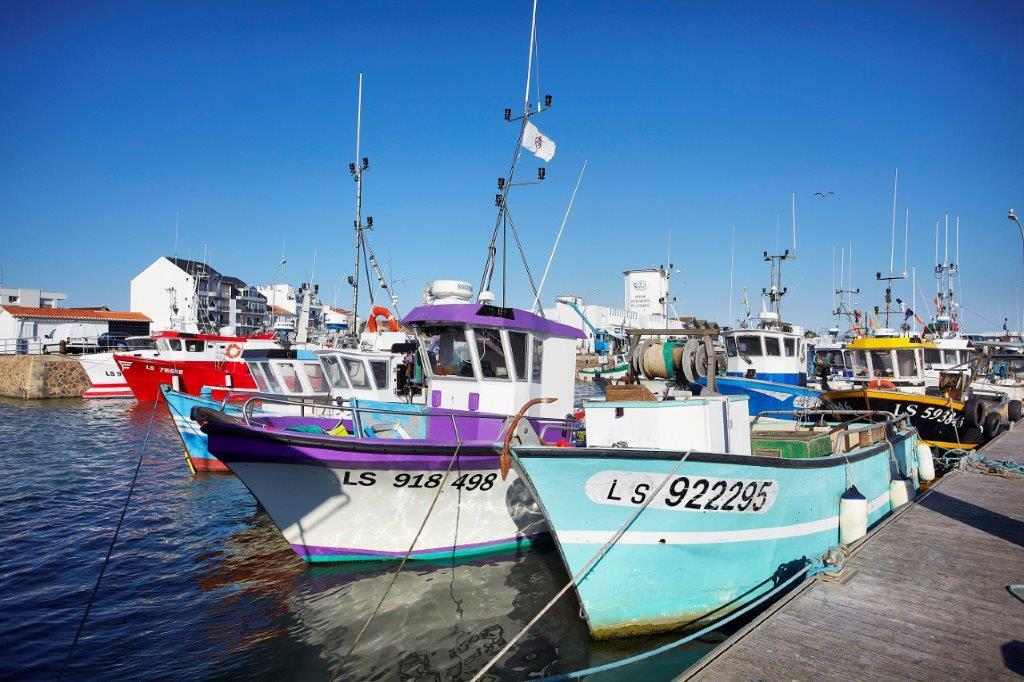 port de pêche de Saint Gilles Croix de Vie