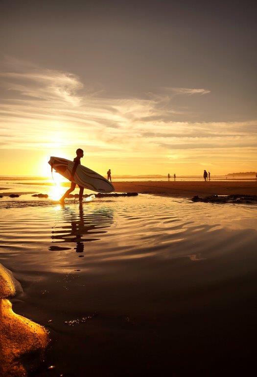 surf à Brétignolles sur Mer