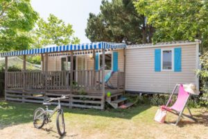location mobil home familial camping 4 étoiles en Vendée