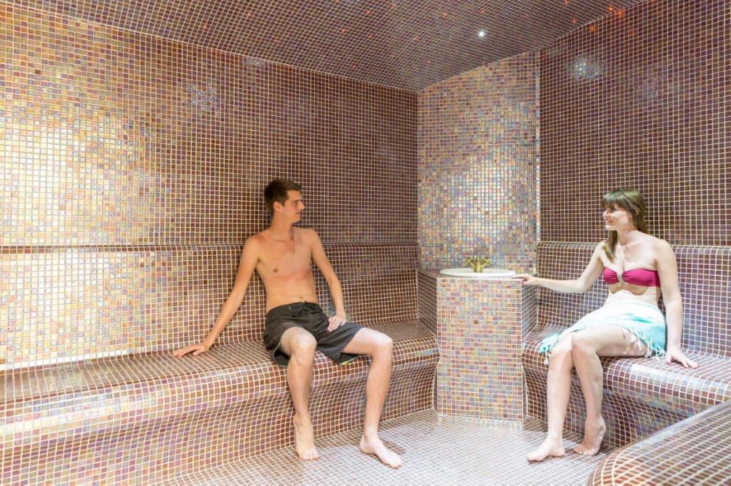 sauna/hammam du camping